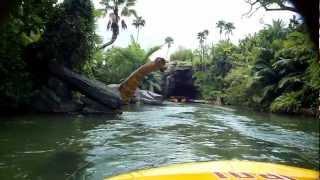 Download Jurassic Park ride front row seat, Universal Studios Orlando Video