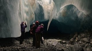 Download 360° Ice Cave Exploration Near Whistler, BC, Canada Video