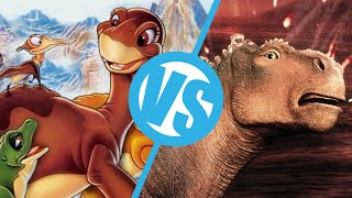 Download The Land Before Time VS Disney's Dinosaur : Movie Feuds ep133 Video