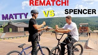 Download Matty Cranmer Vs. Spencer Foresman ″REMATCH″ Game Of BIKE!! Video