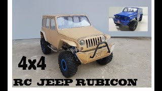 Download WOW! Super RC Jeep Wrangler || DIY at Home || Jeep Rubicon || 4X4 off road || Electric Toy Car Video