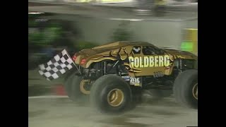 Download Goldberg vs Predator Monster Jam World Finals Racing Quarter Finals 2000 Video