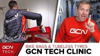 Download Bike Bags, Tubeless Tyres & 1X Conversions | GCN Tech Clinic Video