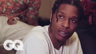Download A$AP Rocky Answers Questions from André 3000, Raf Simons, Mahershala Ali, and More | GQ Style Video