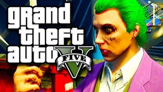 Download GTA 5 Next Gen Funny Moments! (The Joker Plays GTA V!) Xbox One Gameplay! Video