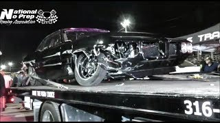 Download Da Kid colliding with Cody Jones turbo coupe at No Prep Mayhem Video