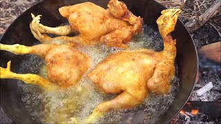 Download WHOLE CHICKEN CURRY RECIPE - CHICKEN CURRY INDIAN STYLE - COOKING & EATING IN WILD Video