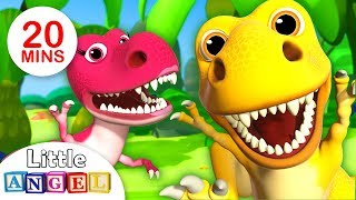 Download We are the Dinosaurs, Dinosaur Dance & more Fun Kid Songs and Nursery Rhymes by Little Angel Video
