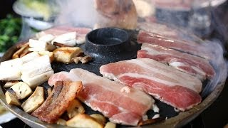 Download Grilled Pork Belly (Samgyeopsal-gui: 삼겹살구이) Video