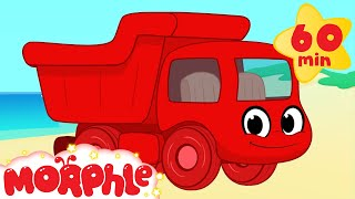 Download Dumptruck vehicle adventures with Morphle ( +1 hour My Magic Pet Morphle kids videos compilation) Video