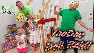 Download Baldi's Basics in Real Life VooDoo Doll! Family Games Scavenger Hunt!! Video