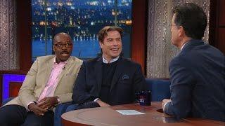 Download John Travolta & Courtney B. Vance Talk 'The People vs. O.J. Simpson' Video