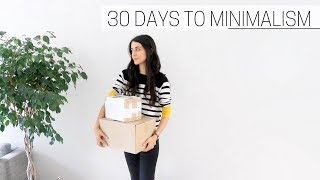 Download 30 DAYS TO MINIMALISM » + printable guide Video