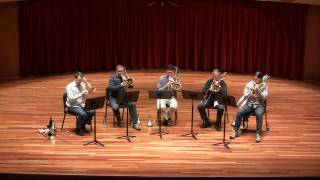 Download Claude Debussy's Girl With the Flaxen Hair arranged for 5 trombones Video