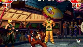 Download GGPO - The King Of Fighters 97 - Paecan(KOR) Vs GGGGGGGG(TAI) Video