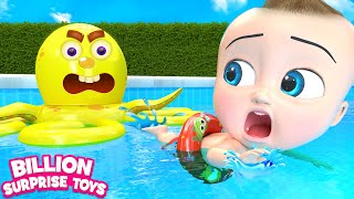 Download Colorful Water Slides | + More Kids Songs | Billion Surprise Toys Video