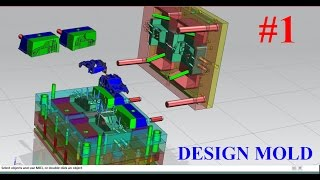 Download NX Mold wizard Tutorial Part 1 : How to create a project mold in nx Video