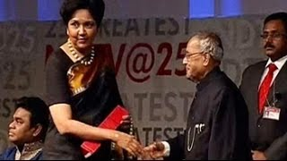 Download Never be happy with what you know: Indra Nooyi Video