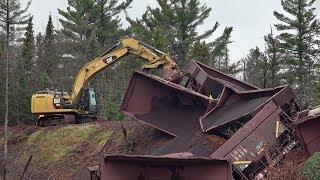 Download TRRS 514: LS&I Ore Train Derailment Cleanup - 02 Nov 2017 Video