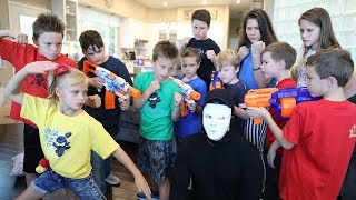 Download Nerf War: Kidz Squad Unmasked The Game Master (The White Hat) Video