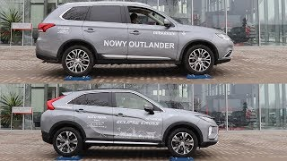Download 2018 Mitsubishi Eclipse Cross S-AWC vs Outlander AWC - 4x4 test on rollers - part 2 Video