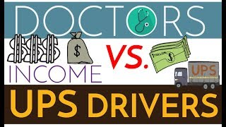 Download Are Doctors Rich? $$$ Physicians vs. UPS Drivers Video