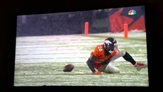 Download Rob Gronkowski knee injury vs broncos out of game fan reaction Video