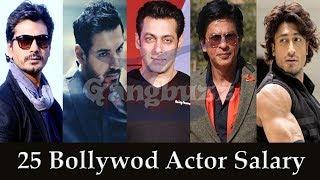 Download Bollywood Actors Salary - Top 26 Bollywood Actors Salary Per Film *Top Bollywood Actors Salary* Video