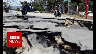 Download Indonesia quake turns ground into liquid - BBC News Video