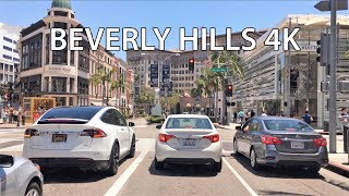 Download Driving Downtown - Beverly Hills 4K - USA Video