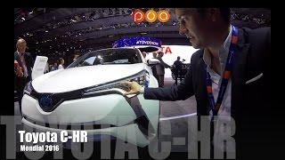 Download Toyota C-HR 2017 et Nouvelle Toyota Prius Rechargeable 2017 - Mondial de l'Automobile 2016 11/20 Video