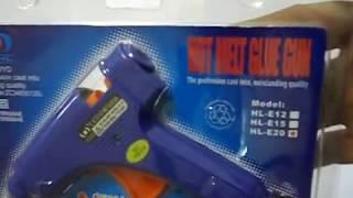 Download Pistol de lipit cu silicon HL-E20 + 5 rezerve Video