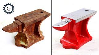 Download Mini Anvil Restoration | Restore Japan Anvil Video