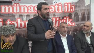Download Haci Valeh 2017 - Hezret Elinin movludu Video