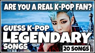 Download GUESS KPOP LEGENDARY SONGS | CAN YOU GUESS ALL 20 SONGS? Video
