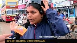 Download Vyttila flyover construction started; traffic block in Kochi Video