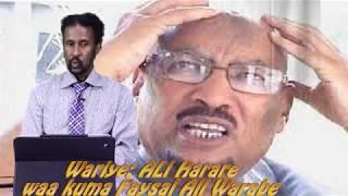 Download daawo Wariye Cali Xaraare iyo Cunsurinimada Faysal Cali Waraabe meesha aay marayso Video