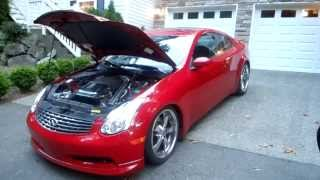 Download 600hp 2005 Infiniti G35 twin turbo: in car video - Seattle to Redmond in 9 minutes Video