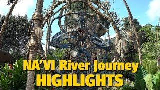 Download 4K Na'vi River Journey Queue & Ride Highlights | Pandora - The World of AVATAR Video