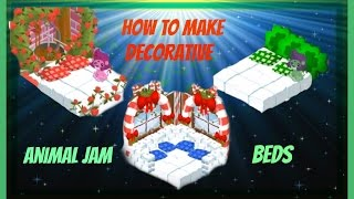 Download Animal Jam: How To Make Decorative Beds Video