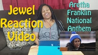 Download Jewel's Reaction Aretha Franklin National Anthem (2016) Video