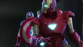 Download Iron Man and Captain America Heroes United trailer by conejotonto Video