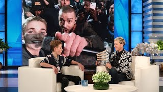 Download Justin Timberlake Surprises Super Bowl Selfie Kid Ryan McKenna Video