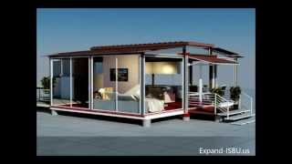 Download Mobile home - EBS block-expandable building system block Video