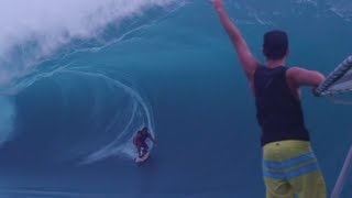 Download Surfing the Heaviest Wave in the World - Teahupoo Video