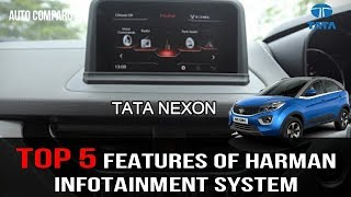 Download TATA NEXON ! TOP 5 FEATURES OF HARMAN INFOTAINMENT SYSTEM Video
