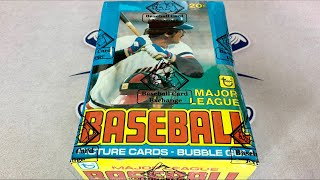 Download OPENING A 40 YEAR OLD $2000 BOX OF OLD BASEBALL CARDS! (1979 TOPPS) Video