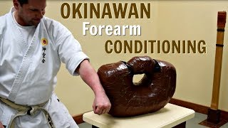 Download Okinawan Forearm Conditioning - Uechi Ryu Karate Video