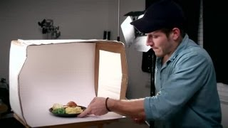 Download How to Make a Lightbox to Photograph Food : Tips for Photographers Video