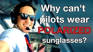 Download Why PILOTS CAN´T wear POLARIZED sunglasses? Explain by CAPTAIN JOE Video